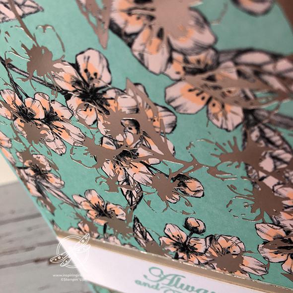 Parisian Blooms Card Stampin' Up! Uk Inspiring Inkin' Amanda Fowler