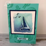 Sailing Home Card Stampin