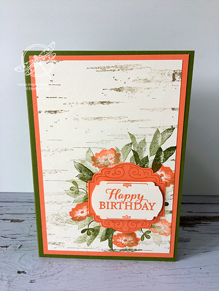 Layered with Kindness Stampin' Up! Uk Inspiring Inkin' Amanda Fowler