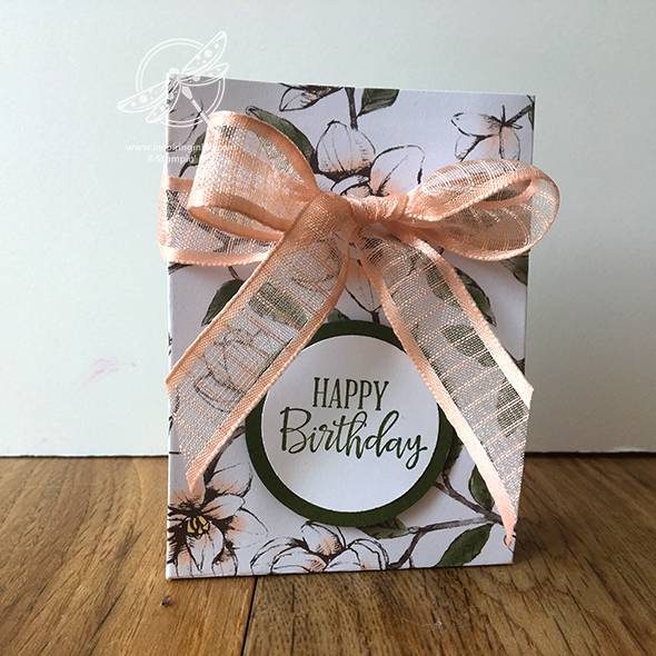 Mini Gift Bag Video Amanda Fowler Inspiring Inkin' Stampin' Up! UK