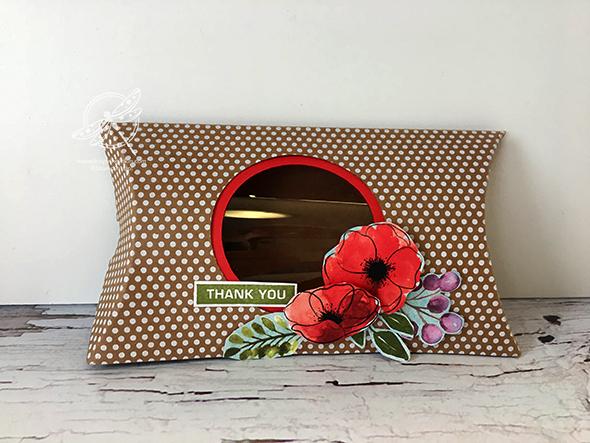 Pillow Box Stampin' Up! Uk Inspiring Inkin' Amanda Fowler