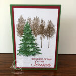 Winter Woods Christmas Card Stampin