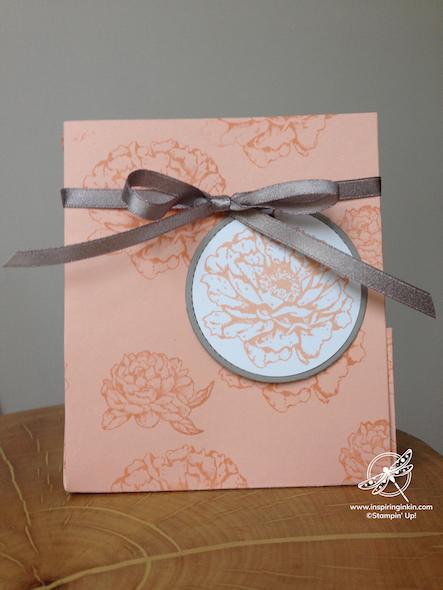 Prized Peony One Sheet bag Stampin' Up! Uk Inspiring Inkin' Amanda fowler - 2
