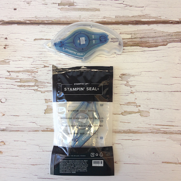 NEW Adhesives Stampin' Seal and Seal + Video
