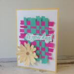 Paper Weaving Stampin
