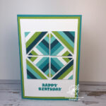 Kaleidoscope Tile Card Stampin