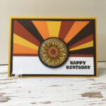 Sunburst Technique Stampin