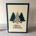 Pines Punch Christmas Tree Card Stampin