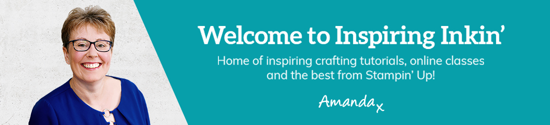 Amanda Fowler Stampin' Up! UK Inspiring Inkin' Website Banner