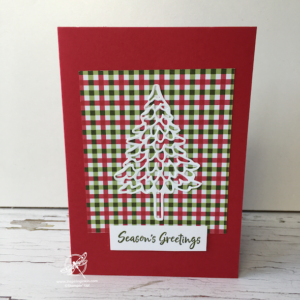 Pine Woods Christmas Card