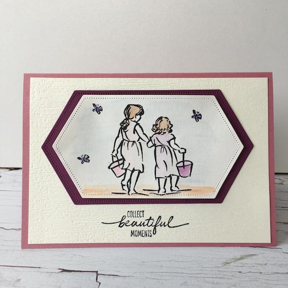 Watercolouring Stampin' Up! Uk Inspiring Inkin' Amanda Fowler - 2