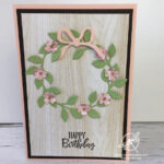 Wreath Builder Dies Birthday card Amanda Fowler Inspiring Inkin