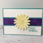 Daisy Lane Birthday Card Amanda Fowler Inspiring Inkin