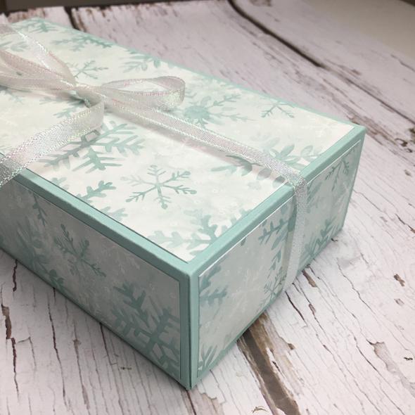 Large Gift Box Amanda Fowler Inspiring Inkin' Stampin' Up! Uk - 1