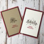 Quick Owl Christmas Cards Amanda Fowler Inspiring Inkin