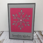 Snowflake Christmas Card Amanda Fowler Inspiring Inkin