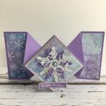 Cracker Fold Christmas Card Amanda Fowler Inspiring Inkin