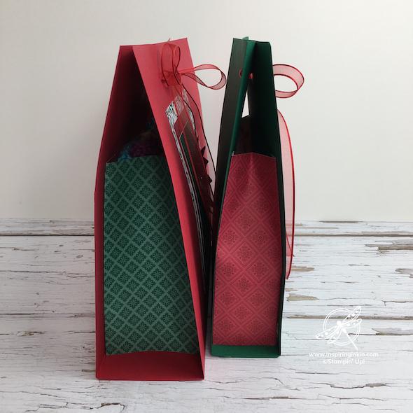 Fancy Gift Bag Amanda Fowler Inspiring Inkin' Stampin' Up! Uk