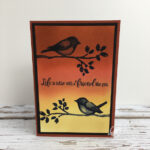 Birds and Branches Card Stampin