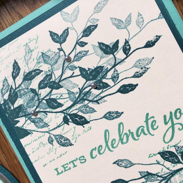 Celebrations Amanda Fowler Inspiring Inkin' Stampin' Up! Uk