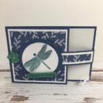 Dragonfly Garden Card Stampin