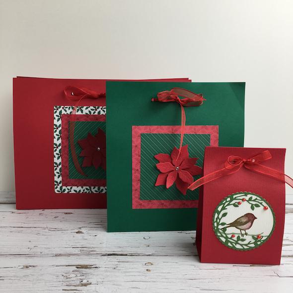 Fancy Gift Bag Amanda Fowler Inspiring Inkin' Stampin' Up! Uk - 1