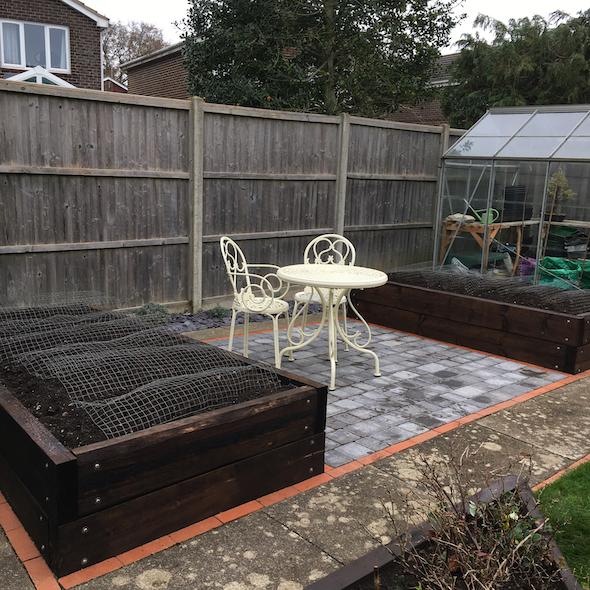 Finished Back Garden Amanda Fowler Inspiring Inkin' Stampin' Up! Uk
