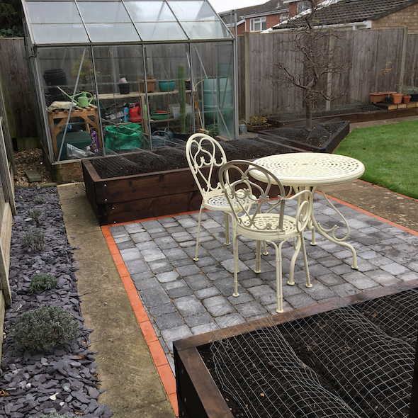 And the Back Garden is finished