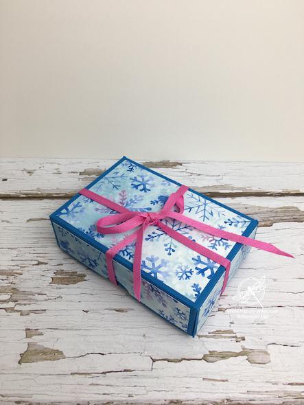 Gift Card Box Video Amanda Fowler Inspiring Inkin' Stampin' Up! Uk