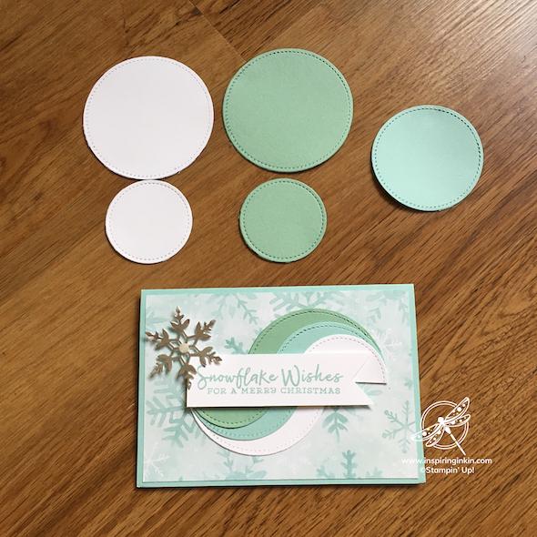 Layered Circles Card Stampin' Up! UK Inspiring Inkin' Amanda Fowler