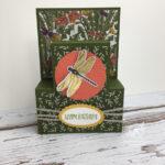 Dragonfly Shelf Fold Cards Stampin