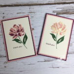 Fine Art Floral Card Stampin