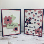 Pierced In Blooms Card Stampin