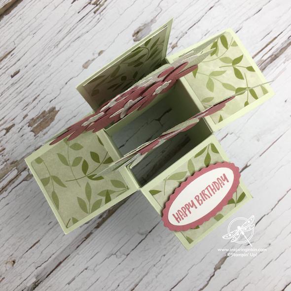 Pop-Up Box Card Stampin' Up! UK Inspiring Inkin' Amanda Fowler