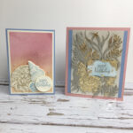 Sand and Sea Cards Stampin