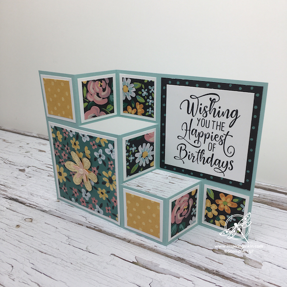 Craft and Chat: 6″ Box Fold card and Envelope