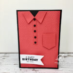 Polo or Sports Shirt Card Stampin