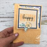 Corner Fold Card Video Stampin