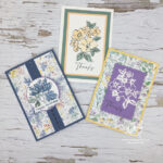 Hand Penned cards Stampin
