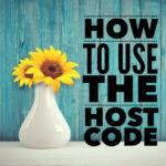 Host code Stampin