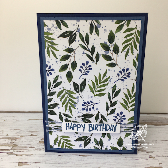 Beauty of the Earth 3 Quick Cards Stampin' Up! UK Inspiring Inkin' Amanda Fowler