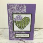 Flowering Cactus Card Stampin
