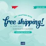 Free Shipping Stampin