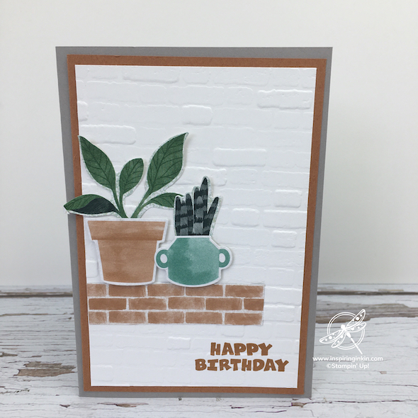 Bloom Where You're Planted Birthday Card