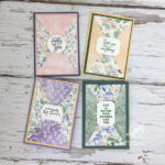 Triangle Flip Cards Stampin