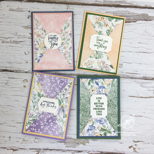 Craft and Chat : Triangle Flip Cards